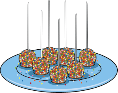 Baketivity cake pop illustration