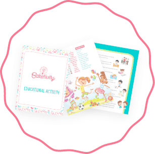 Baketivity instruction and educational activity book.