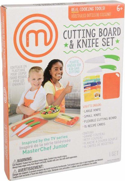 MasterChef Junior Knife and Cutting Board Set