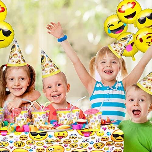 Emoji Party Supplies Set