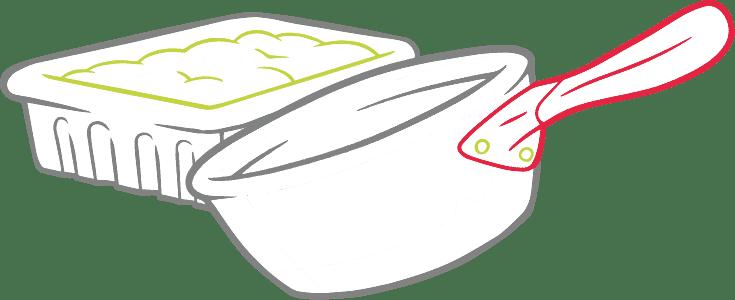 Baketivity illustration of baking pot and pan