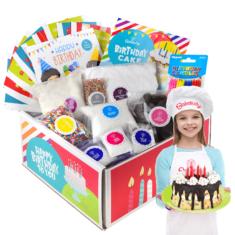 Kids Birthday Party DIY Cake Kit