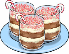 Addie's Brownie Peppermint Trifles