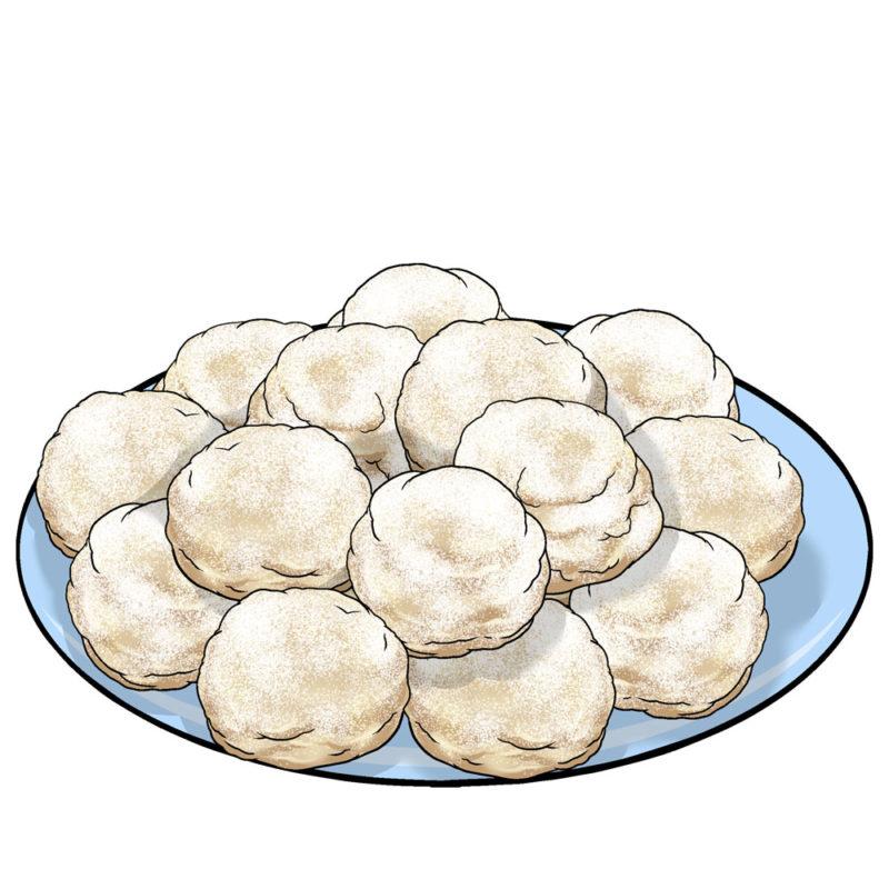 Snowball Cookies Baking Kit